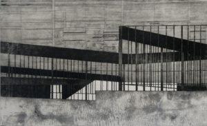 Blandine Galtier, gravure eau-forte, aquatinte, chine-collé sur papier Hahnemühle, sélection de la galerie Virginie Baro