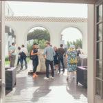 Exposition collective temporaire «Les parenthèses de V.» à la Villa Clara à Anglet, commissariat d'exposition par la galerie d'art Virginie Baro