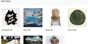 Galerie d'art Virginie Baro, vente d'art en ligne