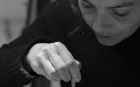 Eliane Monnin céramiste représentée par la Galerie Virginie Baro