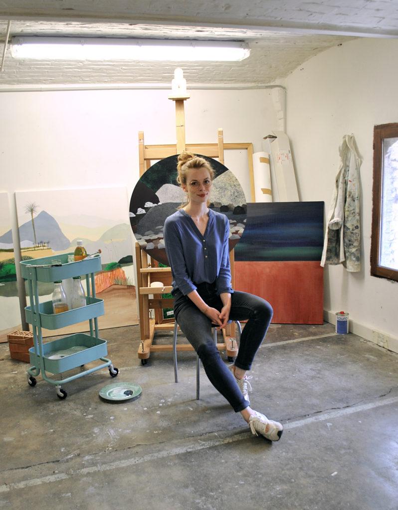 Éléonore Deshayes plasticienne representée par la Galerie Virginie Baro