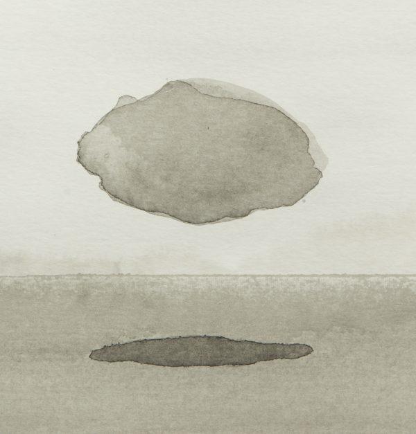 Encre sur papier, Benoît Mauduech, galerie Virginie Baro