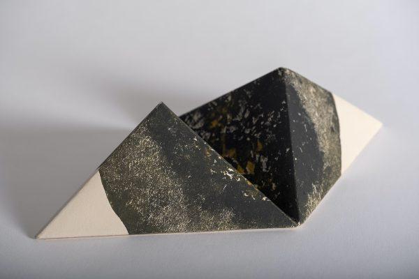 Taille douce, impression sur papier, origami, Jana Lottenburger, représentée par la galerie Virginie Baro