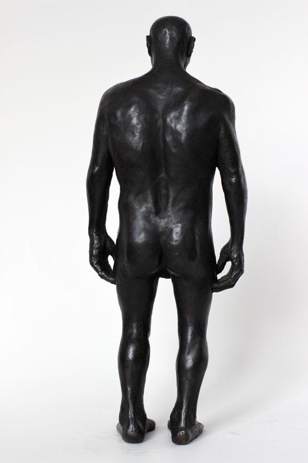 Sculpture bronze par Alain Quercia, représenté par la galerie Virginie Baro